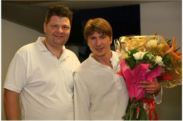 Зеев Левин  и Алексей Ягудин