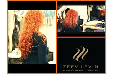 наращивание волос салон Зеэв Левин