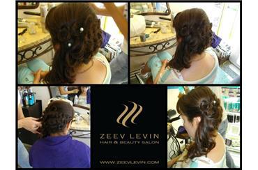 свадебная прическа Зеэв Левин Тель-Авив