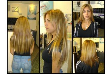 наращивание волос Зеэв Левин Тель- Авив